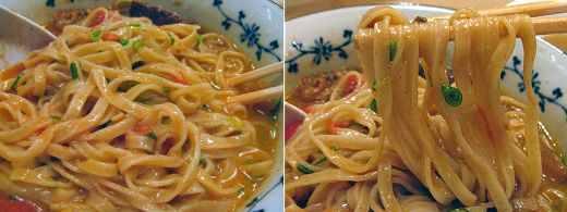神戸ぼっかけ和え麺トマトスペシャル