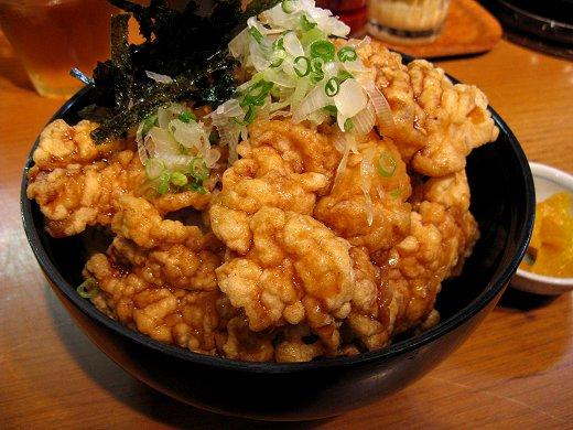 麺屋花星『塩ら〜めん』と『豚天丼』