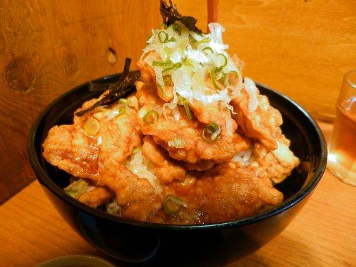 麺屋花星『豚天丼』