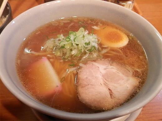 麺屋花星『正油らーめん』と『豚天丼』