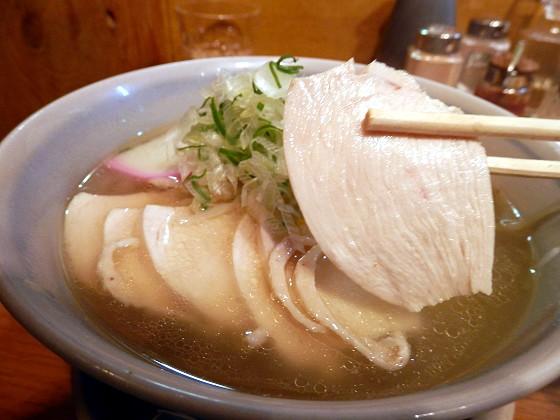 麺屋花星『鶏そば』と『豚天』