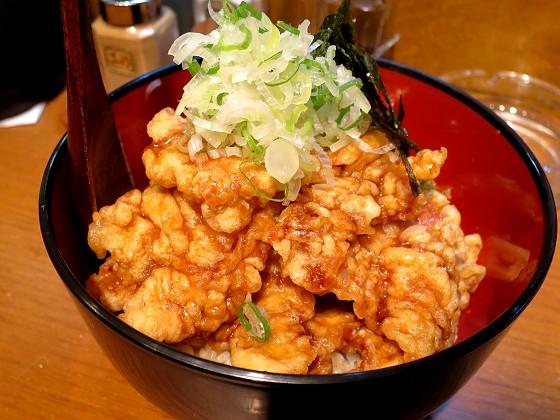 麺屋花星『油そば』と『豚天丼』
