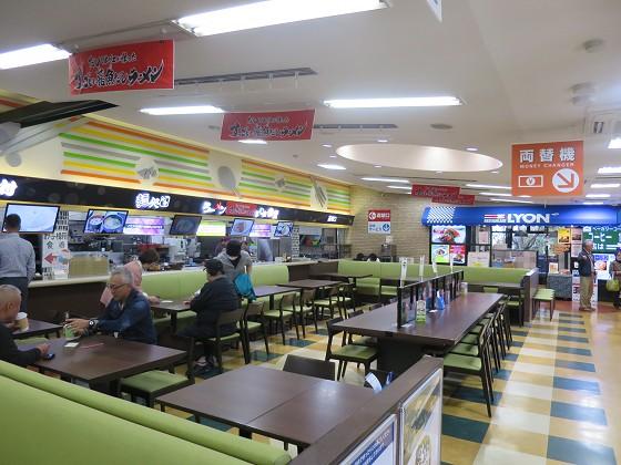 西宮名塩SA上り線フードコーナー